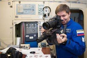 Космонавты Николай Тихонов и Андрей Бабкин сдали зачёт по науке