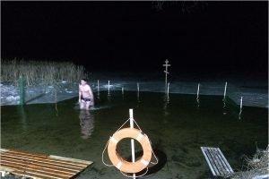 В Брянске  в Крещенских купаниях приняли участие более 1,7 тыс. человек