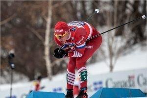 Александр Большунов оформил золотой дубль и уничтожил норвежцев на этапе КМ в Нове-Место