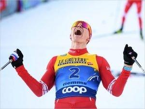 Международная федерация лыжного спорта выслала Александру Большунову Большой Хрустальный глобус