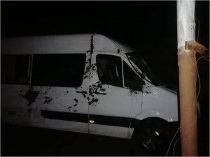 В Брянской области перевернулся украинский микроавтобус. Жертв нет