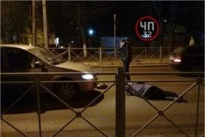 В Брянске женщина попала под колёса на пешеходном переходе