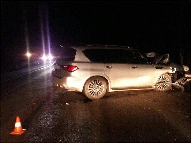 Женщина-водитель получила тяжёлые травмы в лобовом столкновении на брянской объездной