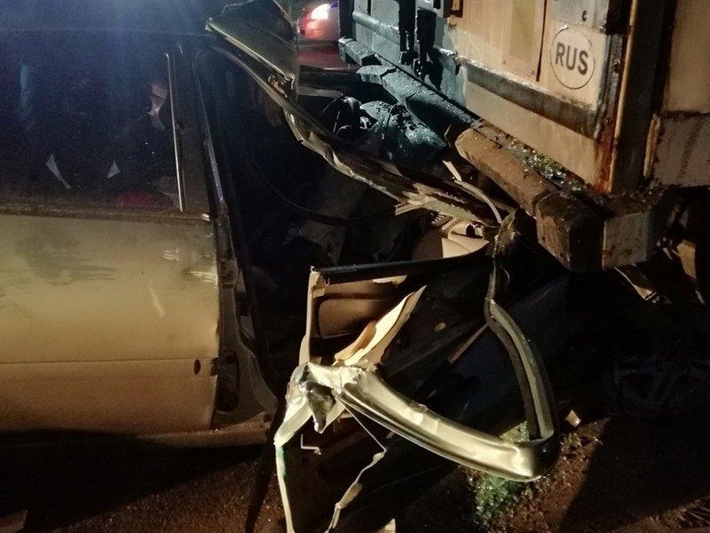 Смертельное ДТП под Брянском на дятьковской трассе: погиб пассажир