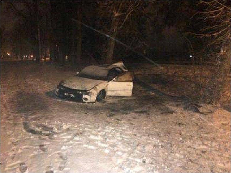 В Белых Берегах в ДТП получила травмы 14-летняя девочка