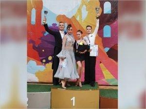Брянские танцоры из клуба «Фантазия» взошли на подиум первенства ЦФО в Туле