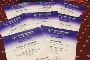 Дятьковская «Грация» собрала россыпь наград на международном танцевальном фестивале в Вологде
