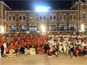 Хоккей на Красной Площади: Александр Богомаз попал шайбой в самое сердце Родины
