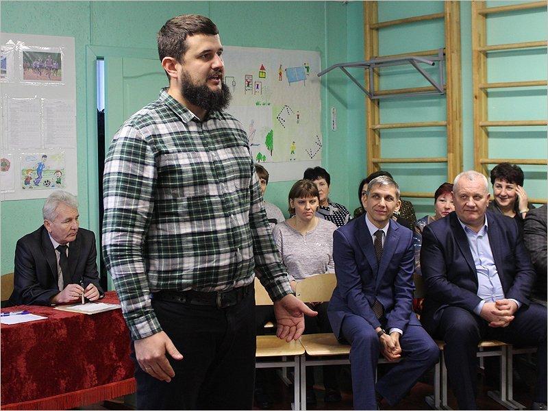 «Мираторг» оборудовал спортзал сельской школы в Орловской области