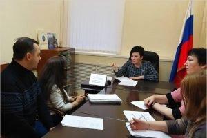 Валентина Миронова провела в Брянске тематический приём по мерам поддержки семей с детьми