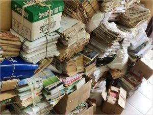 Жители Брянской области за год сдали 670 тонн макулатуры