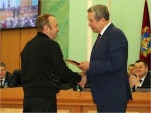 В Брянске вручены почётные знаки за спортивные заслуги