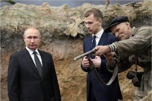 Владимир Путин: Мы заткнём поганый рот тем деятелям «за бугром», кто пытается переиначить историю