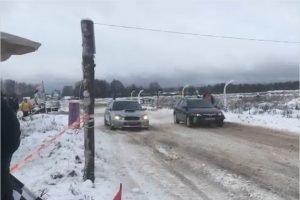 В Дятьково прошёл этап зимней серии ралли-спринта «У Мастера»