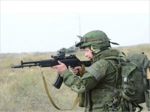 В 2019 году военные получили 18 тысяч комплектов экипировки «Ратник»
