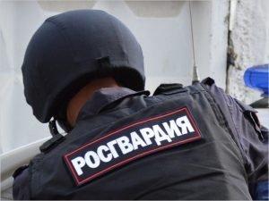 В Брянске росгвардейцы задержали магазинную воровку