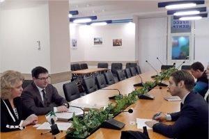 В Брянск для знакомства приехал советник посольства Швеции