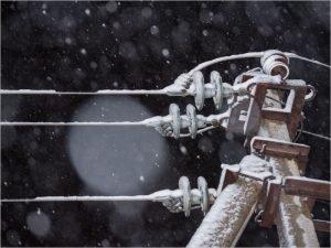 Энергоснабжение в Погарском и Стародубском районах восстанавливают 15 бригад «Брянскэнерго»