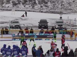 Брянская команда завоевала Кубок России по волейболу на снегу