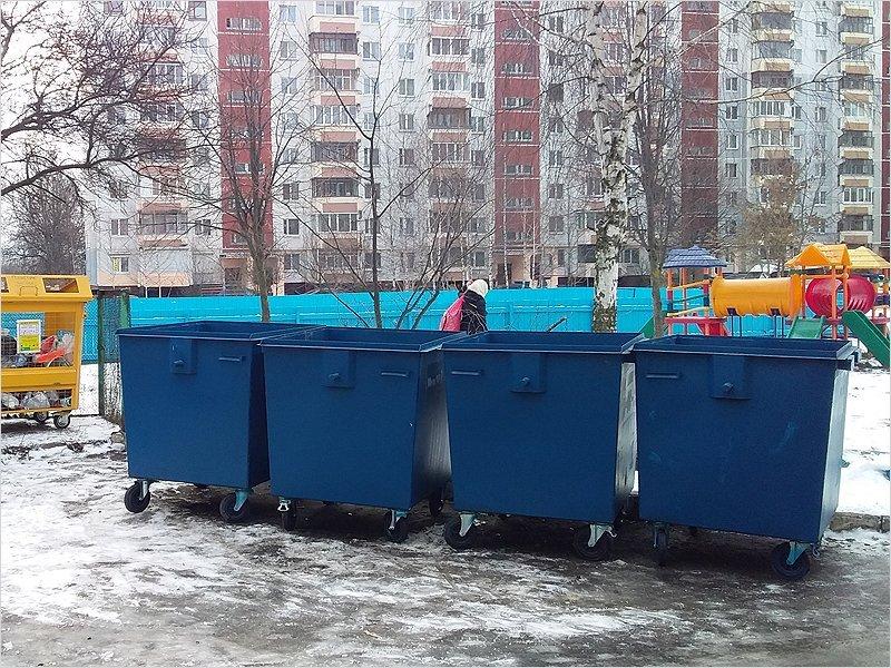 С начала года в Брянске  появилось полторы тысячи новых мусорных контейнеров