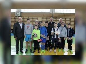 В Трубчевске прошёл традиционный рождественский турнир по дворовому мини-футболу