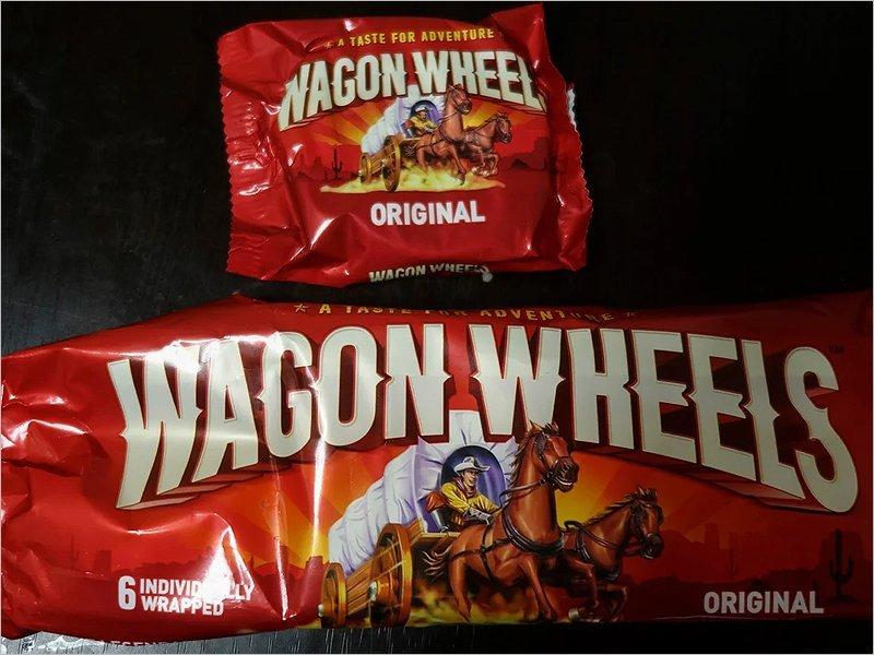 В брянские магазины снова прикатились «Тележные колёса» (Wagon Wheels)