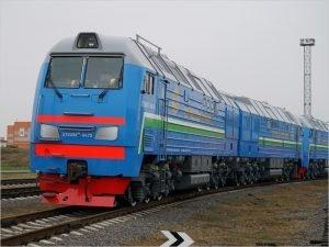 Брянские тепловозы впервые отправлены в Узбекистан