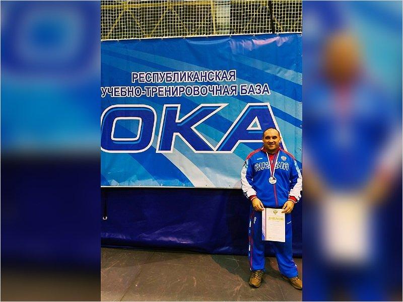 Брянский паралимпиец стал серебряным призёром чемпионата России