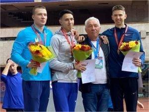 Георгий Горохов стал серебряным призёром ЧР по лёгкой атлетике
