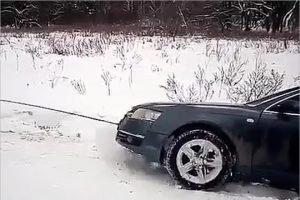 Трубчевские полицейские задержали пьяного белоруса на чужом автомобиле