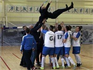 «БрянскАгроСтрой» стал двукратным чемпионом Брянской области по мини-футболу