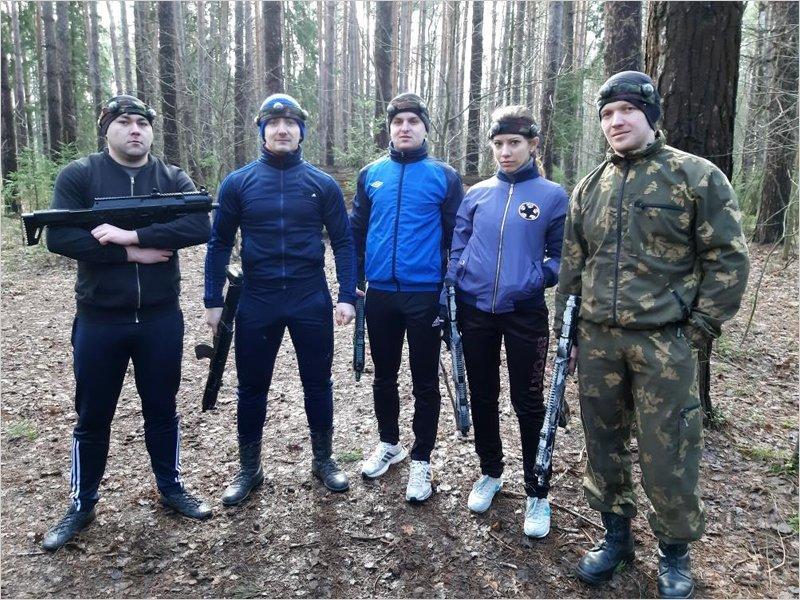 Команда БАЗа приняла участие в турнире по лазертагу