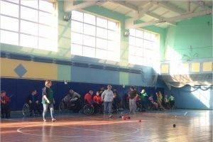 В Брянске паралимпийцы-колясочники разыграли первенство в чемпионате области по бочча