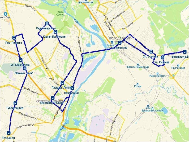 Муниципальный автобусный маршрут № 37 будет продлён до Телецентра