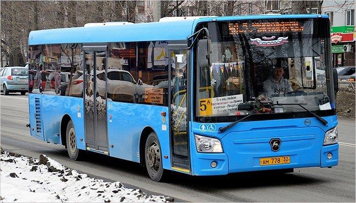 В Брянске с 27 февраля изменяются автобусные маршруты 5а, 5б и 37