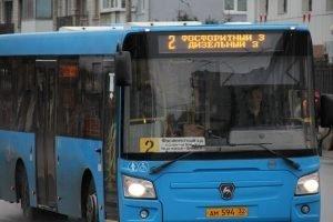 В Брянске скорректировали вечернее расписание автобуса№2