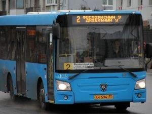 В Брянске с 21 марта изменилось «выходное» расписание автобуса №2