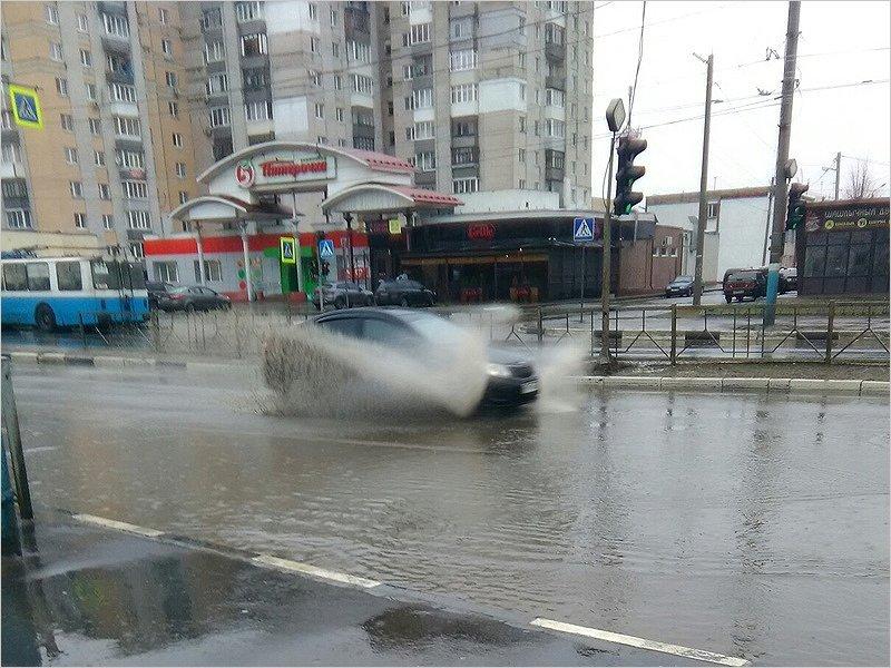 День защитника Отечества в Брянске будет дождливым