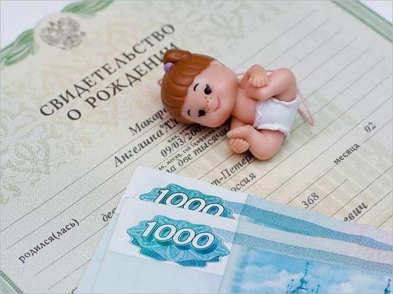 С начала года в Брянской области выплачено детских пособий на 136 млн. рублей