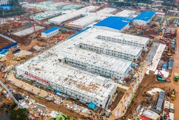 Как реально выглядит новая больница в Ухане, «построенная за два дня»