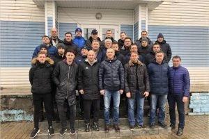Лицензию категории С получили 22 брянских футбольных тренера