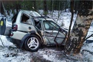 ДТП под Белыми Берегами: водитель Land Rover родился в рубашке