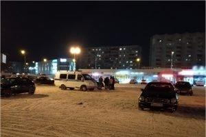 За одну ночь брянским полицейским на парковках ТЦ попались 18 дрифтеров