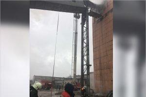 На заводе «Стройдеталь и К» в Брянске горел недействующий элеватор