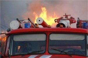 В Фокино утром в среду сгорел жилой дом