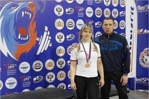 Климовские пауэрлифтеры отстояли честь Брянской области на чемпионате России