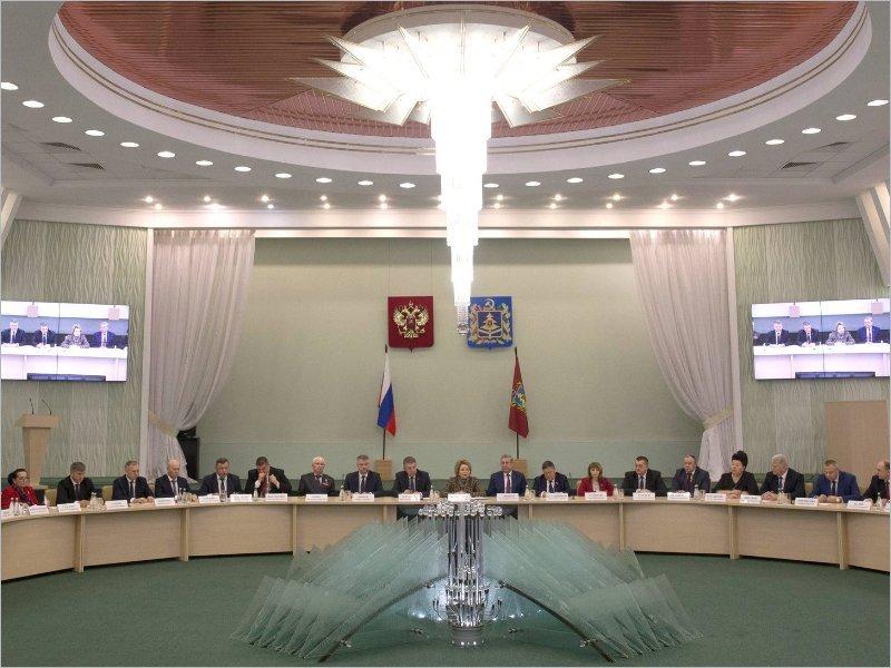 Валентина Матвиенко напугала правительство Брянской области