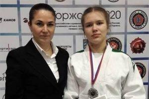 Брянская дзюдоистка завоевала серебро всероссийского турнира