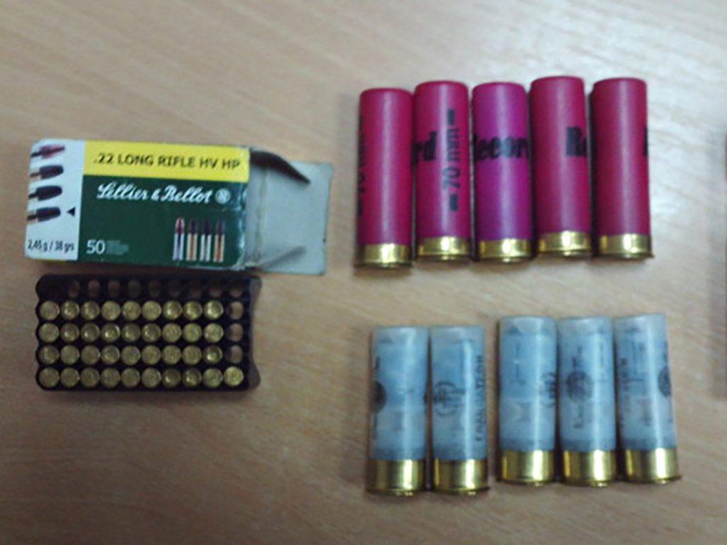 Молдавский уголовник попался на контрабанде патронов