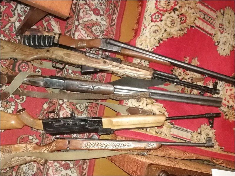 Брянская полиция изъяла за два дня больше 60 незаконных стволов